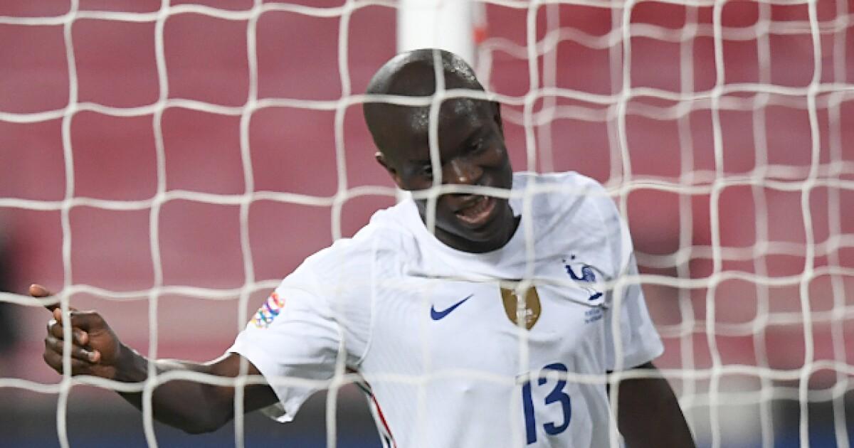 Del que menos lo esperaban: gol de N'Golo Kanté para el Francia 1-0 Portugal, por Liga de Naciones
