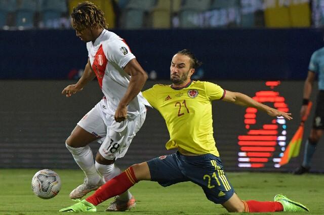 Sebastián Pérez, en la Selección Colombia