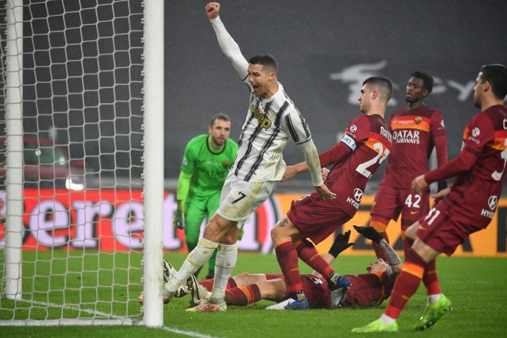 Gol Juventus vs Roma