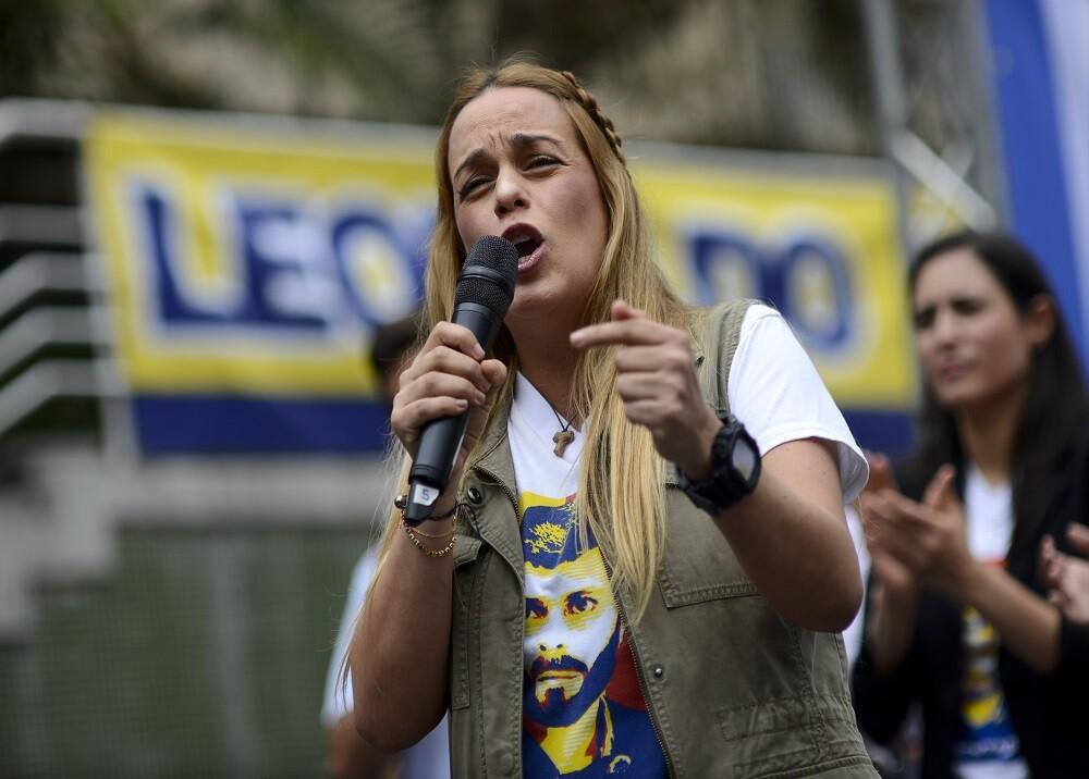 301862_BLU Radio. Lilian Tintori / Foto: AFP