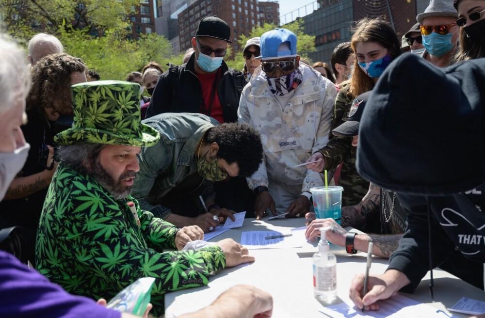 Marihuana en Estados Unidos AFP.