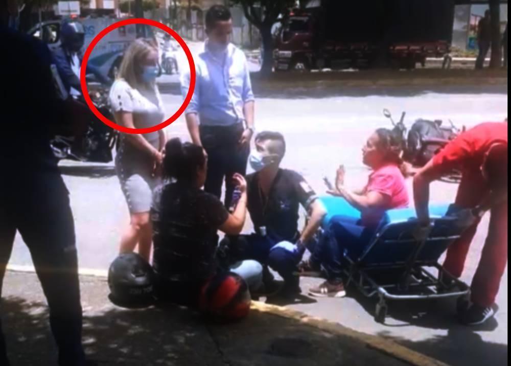 Accidente de tránsito en que se habría visto involucrada jueza en Santander