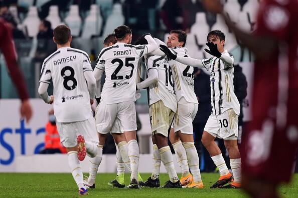 Gol Juventus vs Torino