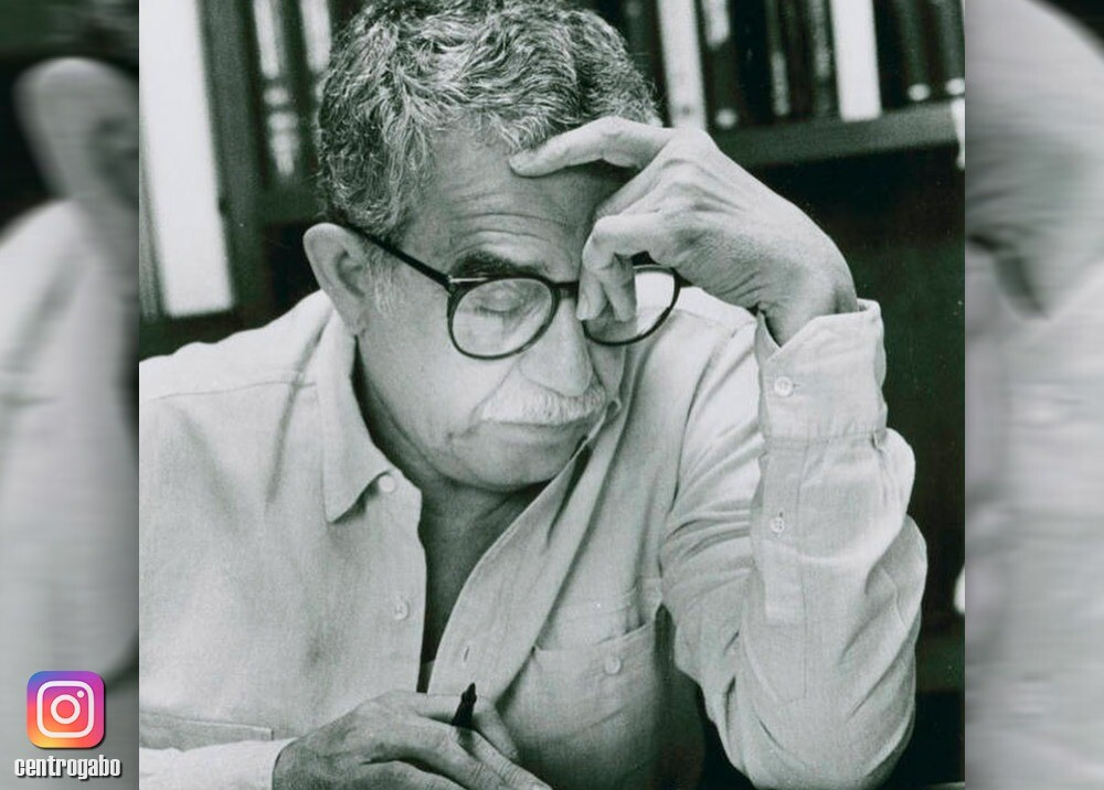 360704_Gabriel García Márquez // Foto: Instagram @CentroGabo