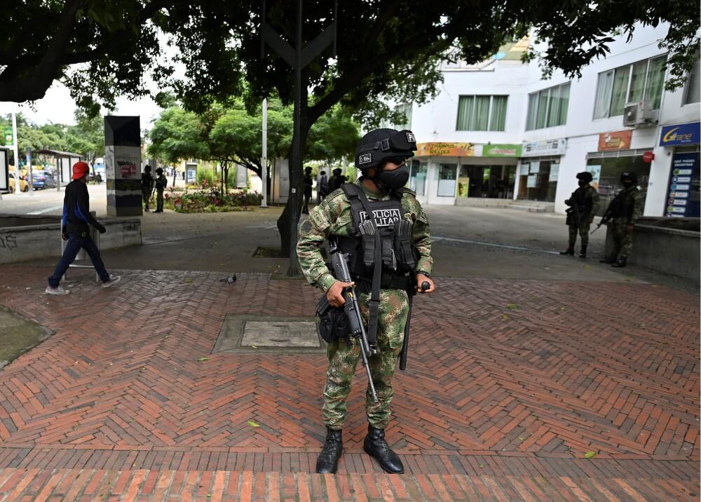Militarización en Colombia