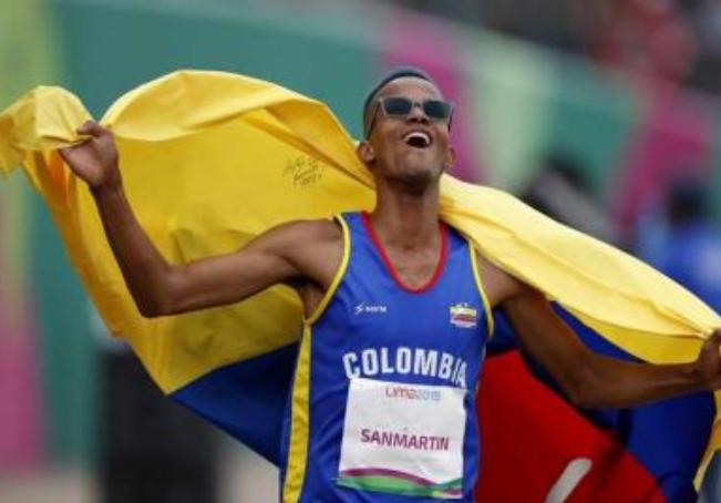 Carlos San Martín representará a Colombia en los Juegos Olímpicos de Tokio 2020.