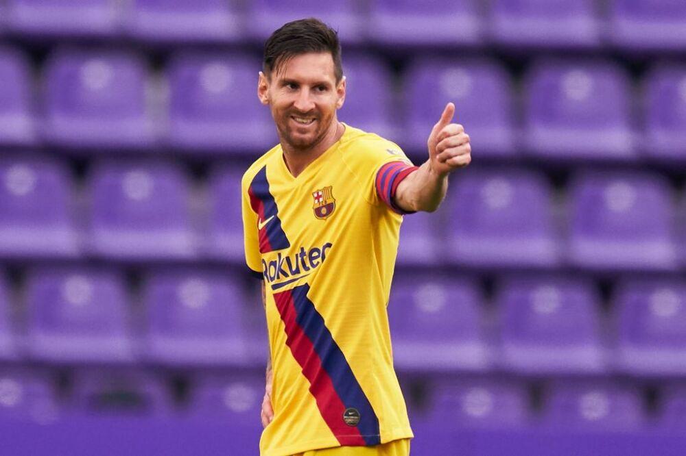 Lionel Messi, Real Valladolid CF v FC Barcelona