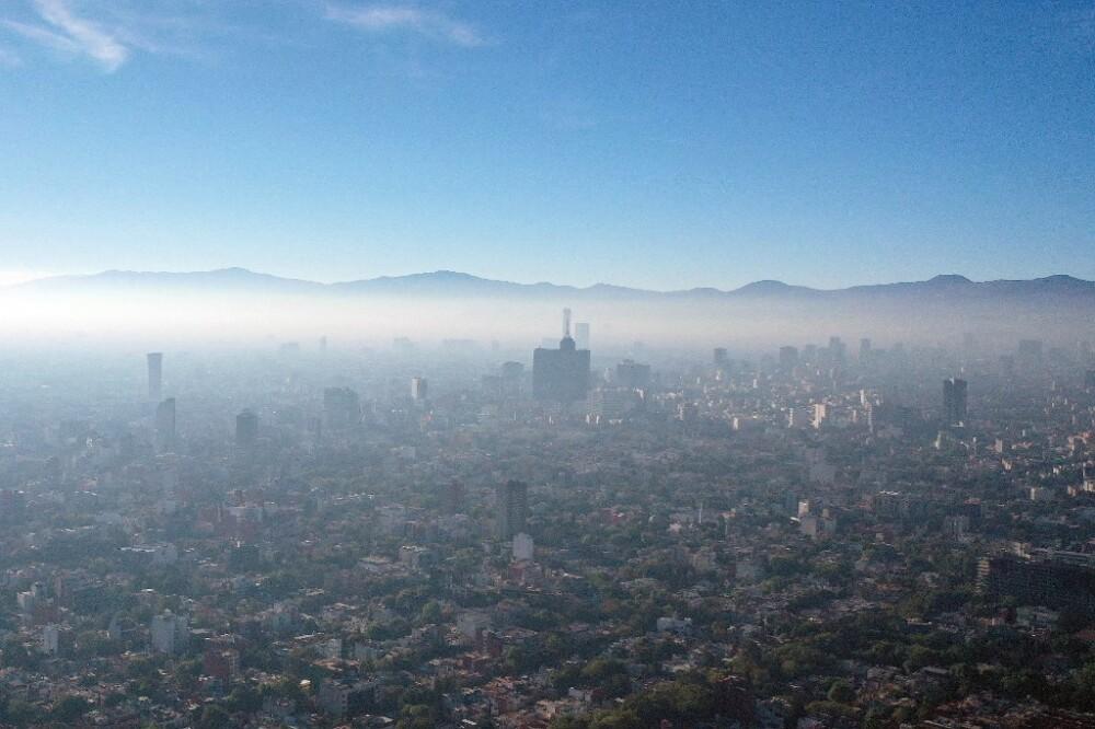 polución en México
