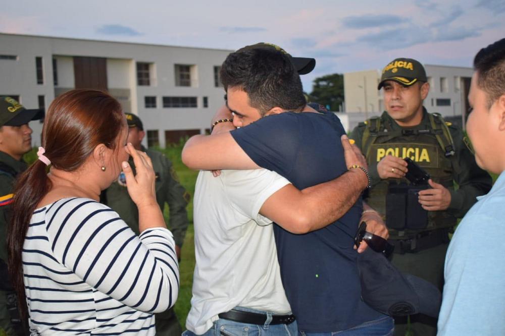 345145_Blu Radio. Liberan al ganadero Javier Barbosa, hermano del alcalde de Villavicencio / Foto: Gaula