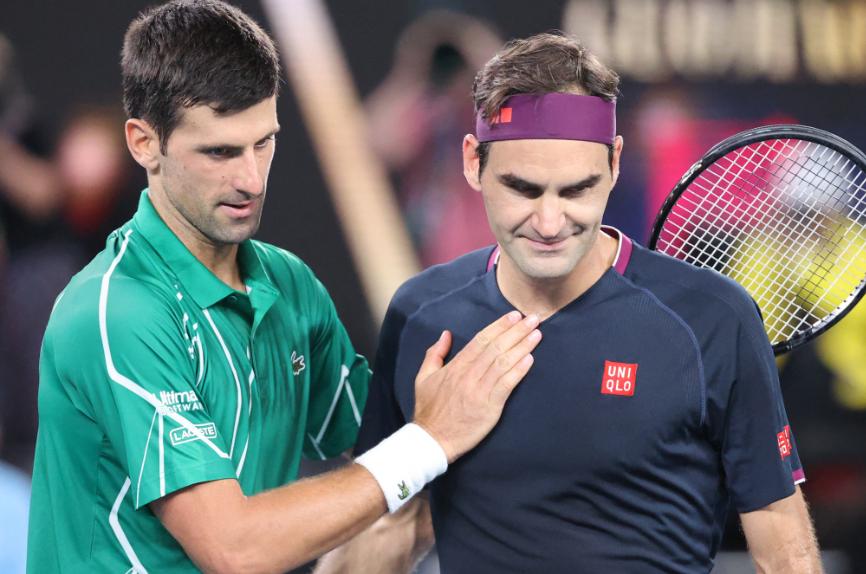 Novak Djokovic y Roger Federer igualan con 310 semanas al frente del escalafón ATP.