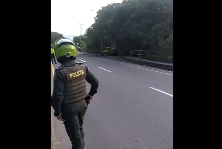 Atentado en la vía Cúcuta-El Escobal contra una patrulla deja una persona muerta y cuatro heridas