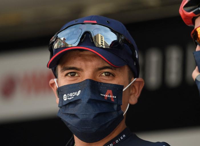 Richard Carapaz será uno de los líderes del Ineos en el Tour de Francia 2021.