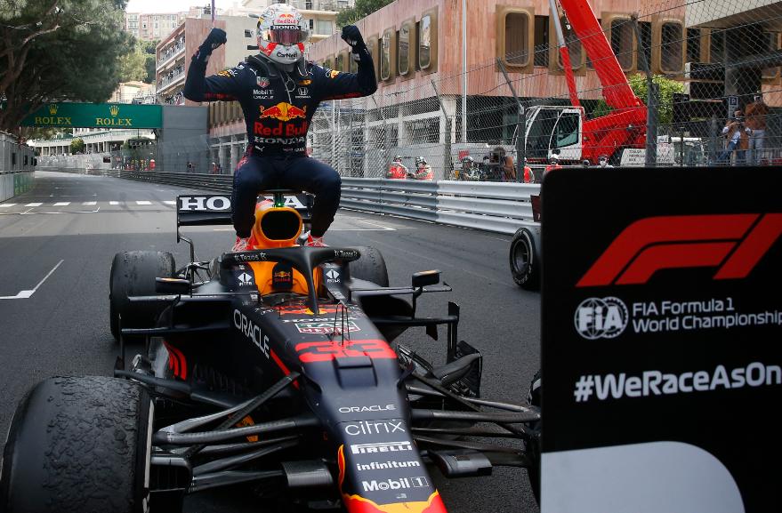 Max Verstappen ganó el GP de Mónaco de Fórmula 1.