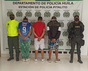 Menores capturados, señalados de pertenecer a banda de ladrones