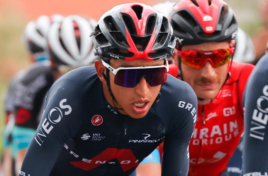 Egan Bernal ganó la etapa 9 del Giro de Italia y es nuevo líder de la general.