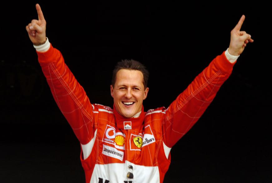 Michael Schumacher, siete veces campeón de la Fórmula 1.