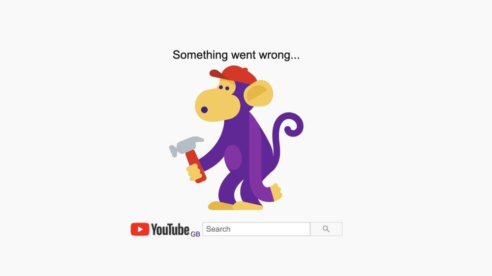 Caída de YouTube