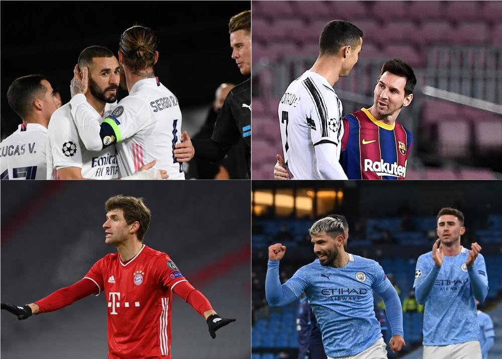 Clasificados Champions League. Foto: AFP