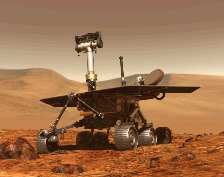 327440_BLU Radio. Robot Opportunity de la NASA / Foto: AFP