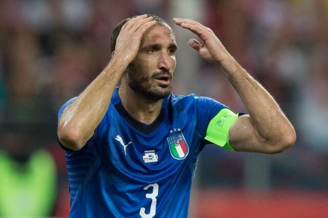 Chiellini, futbolista italiano