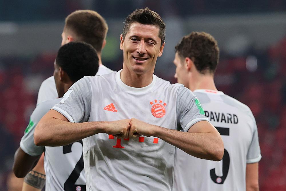 Robert Lewandowsky, jugador de Bayern Múnich. AFP.png