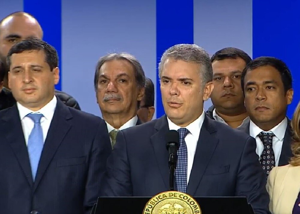 349304_Iván Duque // Foto: Captura pantalla Twitter Presidencia