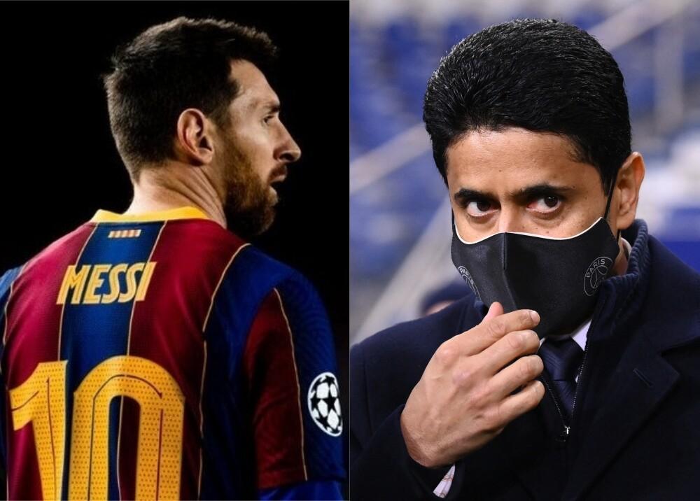 Messi y Al-Khelaïfi Foto AFP.jpg