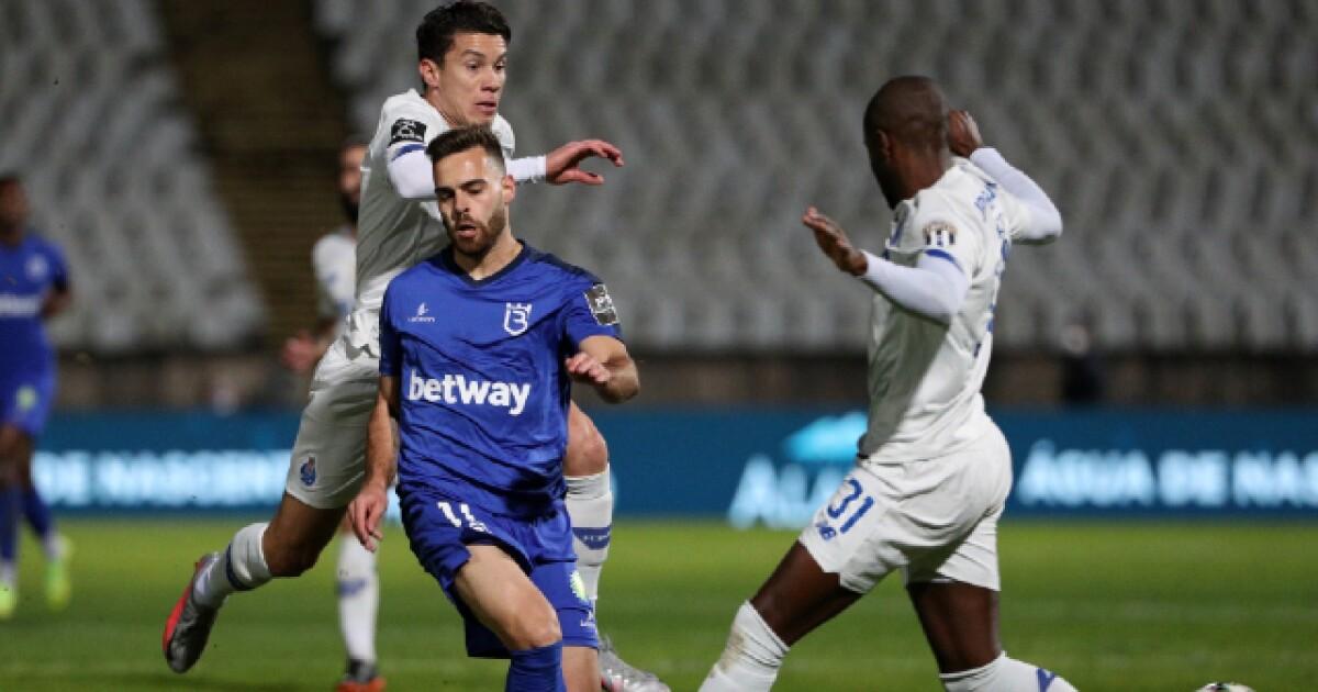 Porto, con Mateus Uribe y Luis Díaz, cedió terreno en Portugal: empató 0-0 con el Belenenses