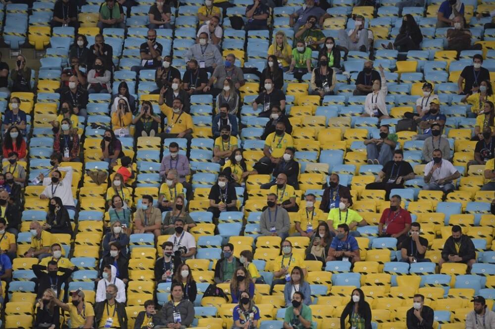 Público en el Maracaná