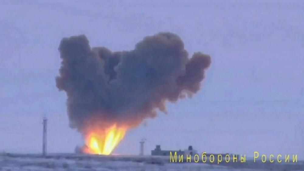 Misil balístico hipersónico ruso Avangard