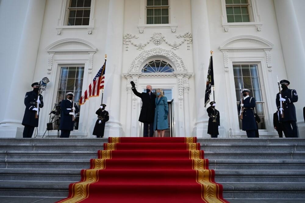 Joe y Jill Biden en la Casa