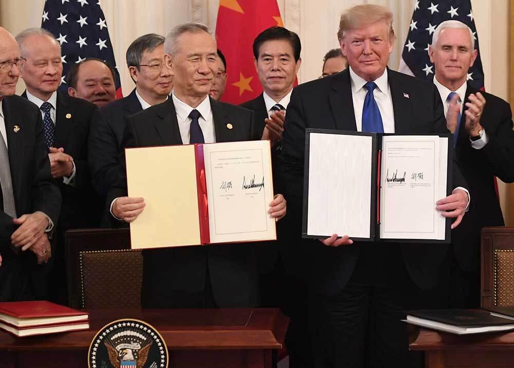 352886_Acuerdo Estados Unidos con China / Foto: AFP