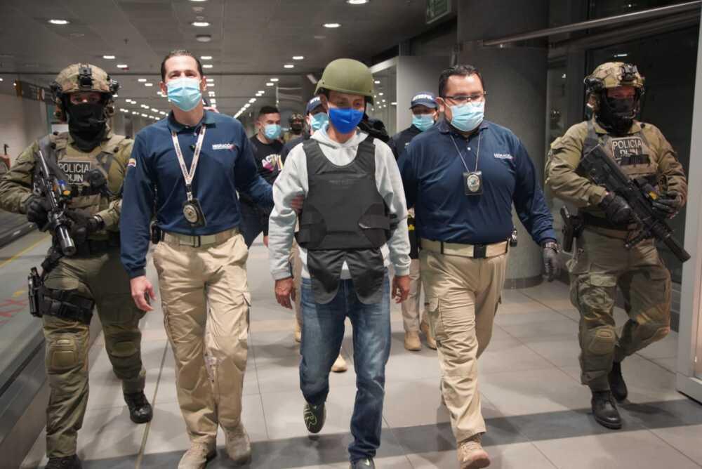 Llegó a Colombia alias 'el Zarco' tras ser extraditado de España