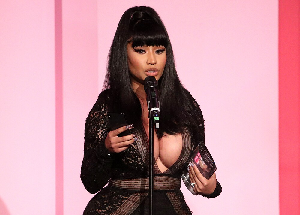 353804_Nicki Minaj // Foto: AFP
