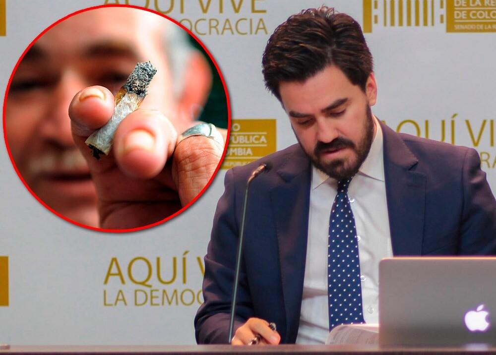 Gabriel Santos - consumo recreativo de marihuana :: Fotos: Facebook Gabriel Santos - AFP.jpeg