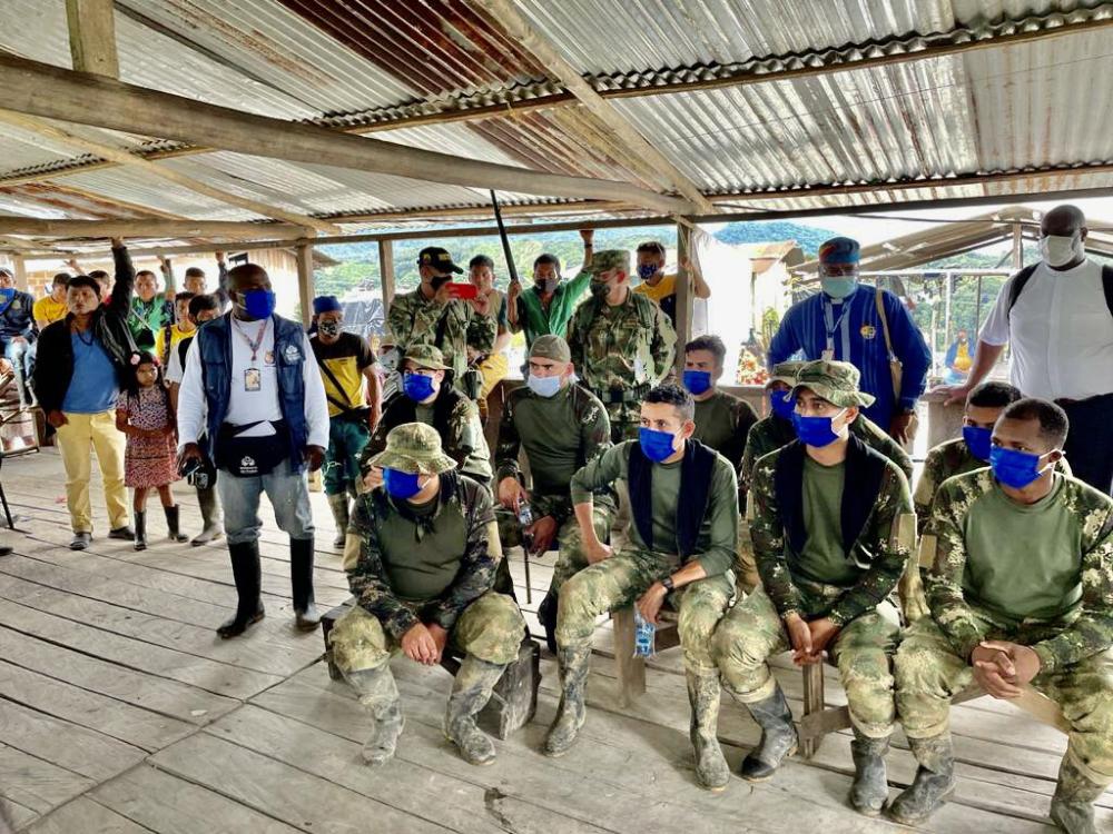 Intervención de Defensoría del Pueblo en Chocó