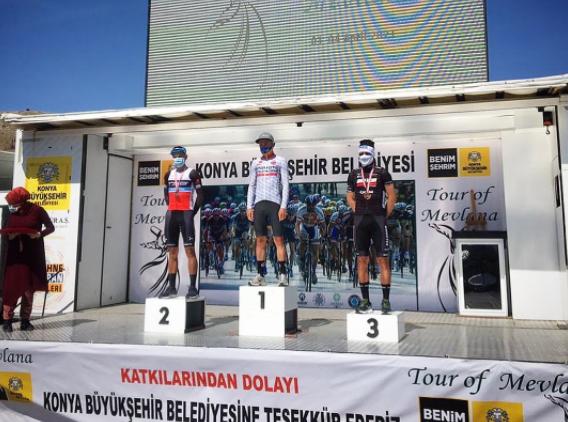 Carlos Quintero fue segundo en la etapa reina del Tour de Mevlana. Foto: Sharon Jane Liau.
