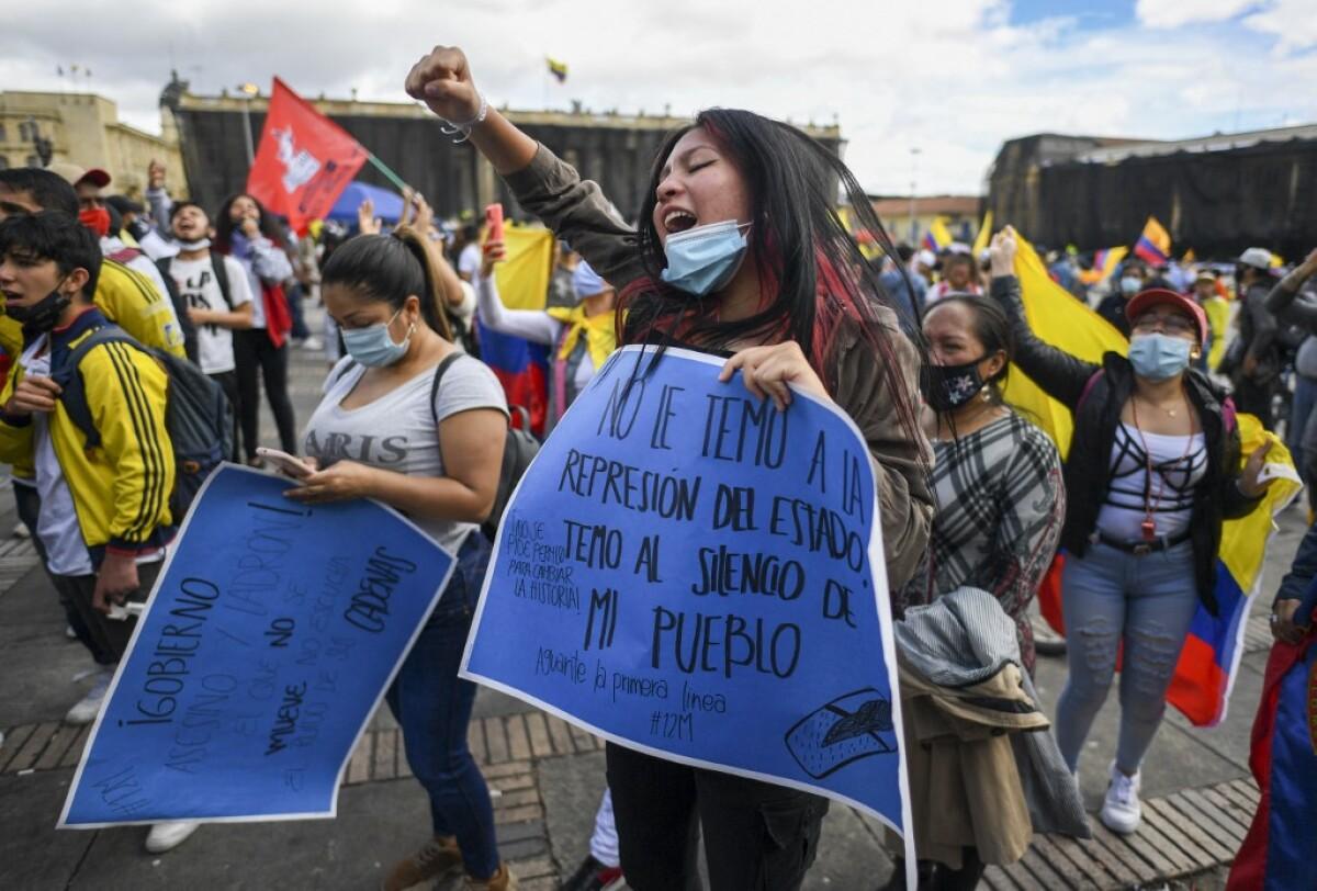 Las peticiones de los jóvenes colombianos al Gobierno en medio del paro nacional