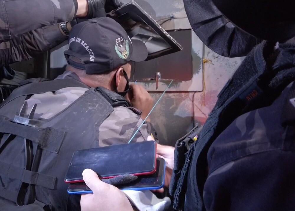 Redada en cárceles del país. Foto captura de pantalla video MinJusticia.jpg