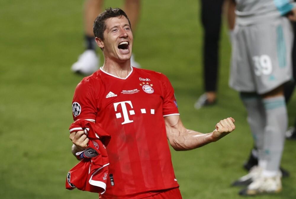 Robert Lewandowski, jugador Bayern Múnich