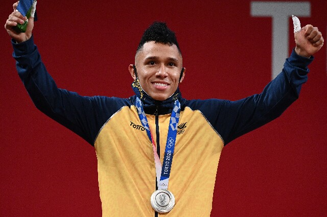 Luis Javier Mosquera, en los Juegos Olímpicos de Tokio