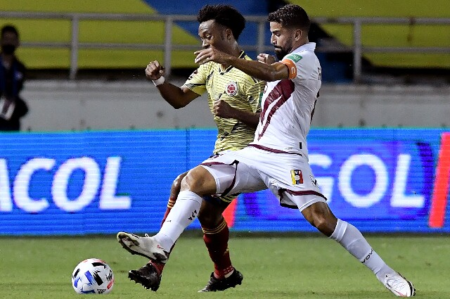 Selección Colombia contra Venezuela, en Eliminatorias