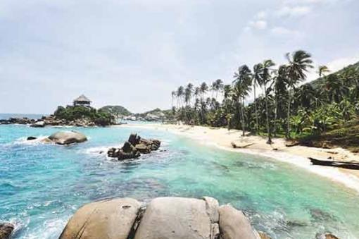 43952_BLU Radio. Playas de Santa Marta/ Foto: AFP
