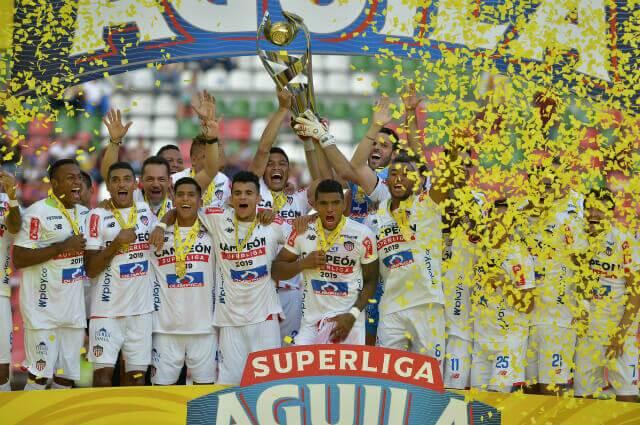 295984_Junior campeón de la Superliga 2019