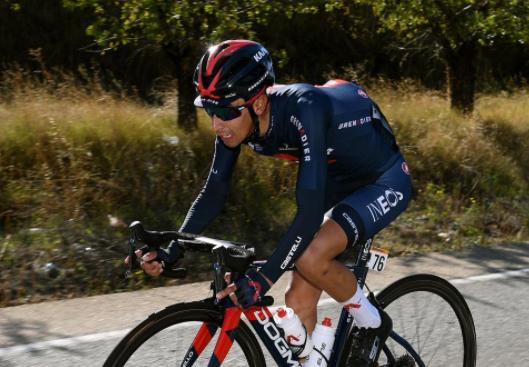 Iván Sosa, ganador de la etapa reina del Tour de Provence.