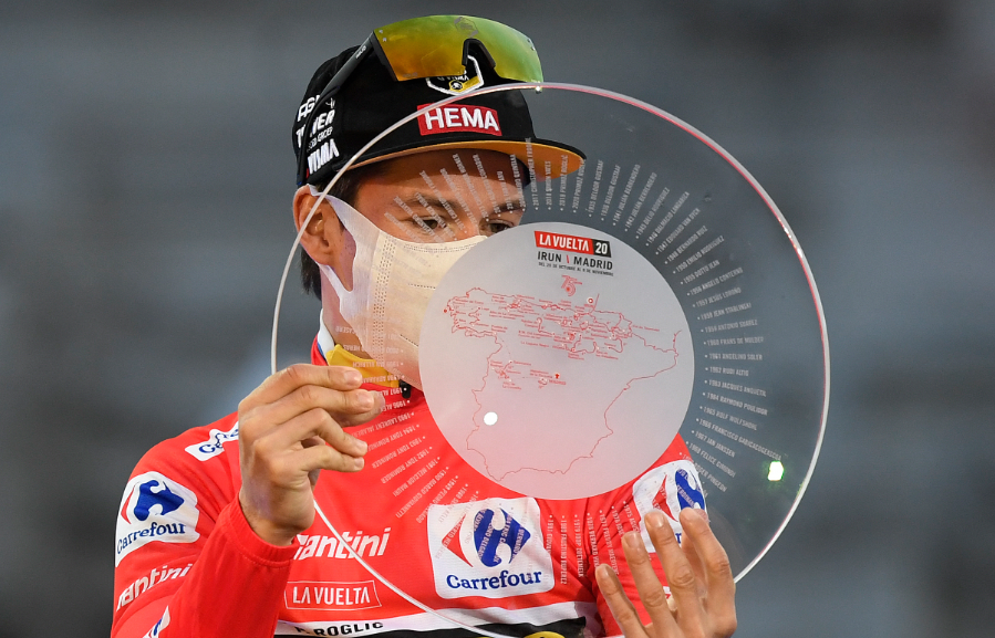 Primoz Roglic fue el campeón de la Vuelta a España en 2019 y 2020.
