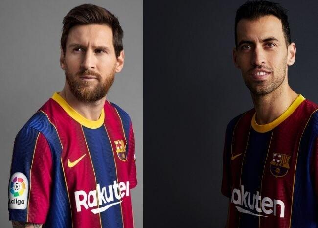 371007_Nueva camiseta FC Barcelona / Foto @FCBarcelona