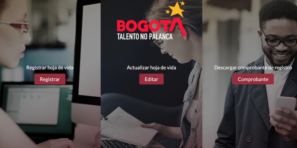 Talento No Palanca / Foto captura de pantalla talentonopalanca.gov.co