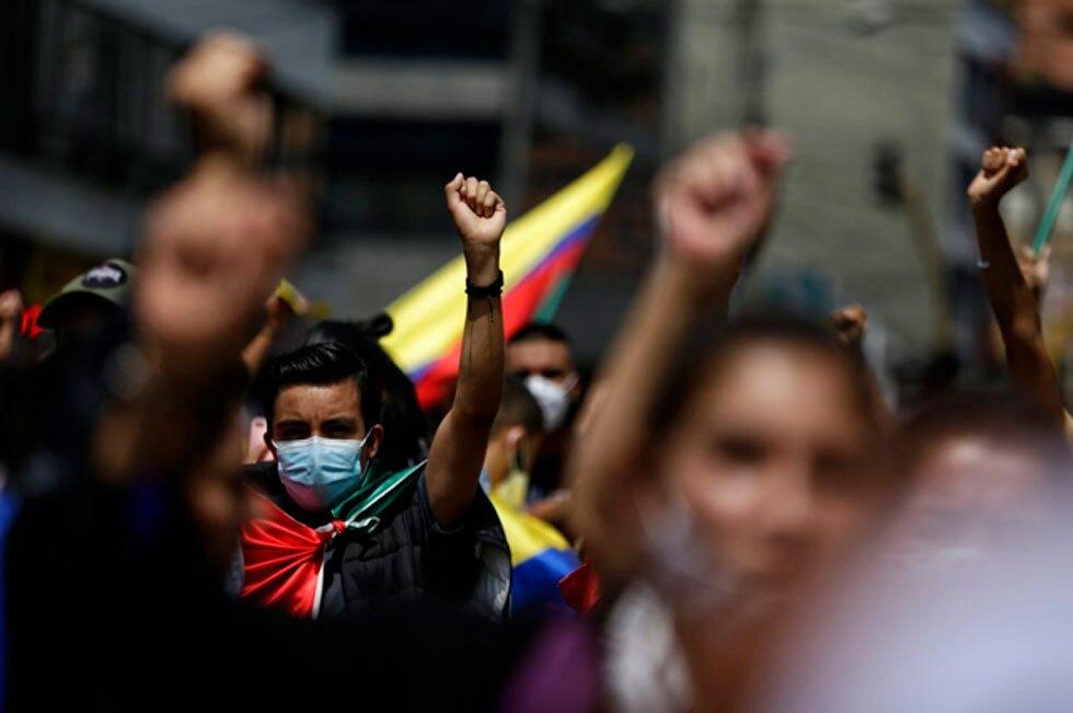 Protestas en Colombia 6 de mayo 2021