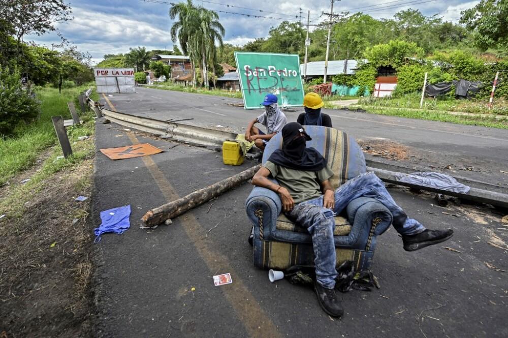 Bloqueos en Colombia